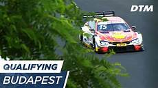 Dtm Budapest 2017 Qualifying Race 2 Live