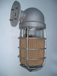 nos 1940 s crouse hinds explosion vintage industrial sconce porch light barn ebay