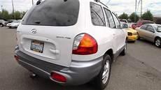 2001 2004 2005 hyundai santa fe car service auto repair workshop manual youtube
