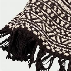 tapis inspiration azt 232 que en coton noir et blanc 60x90cm