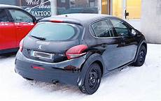 2018 Peugeot 208 Mule Spotted In Sweden Autoevolution