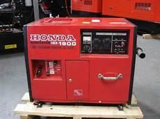 Stromerzeuger Diesel Honda - 1 9 kva schallisolierter stromerzeuger original honda ex 1900