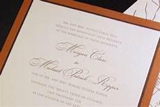 Honor Or Honour Wedding Invitation