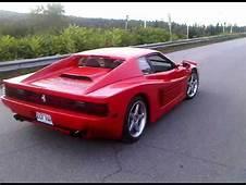 Ferrari Testarossa 512 TR Replica On Fiero 3800