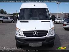 Arctic White  2013 Mercedes Benz Sprinter 2500 High Roof
