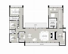 u shaped ranch house plans u shaped house plans with courtyard l shaped house plans