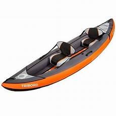 tribord itiwit 3 kayak gonflable 2 ou 3 places itiwit 3 orange tribord