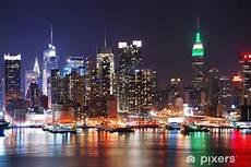 sous new york pour bureau sticker empire state building new york city pixers