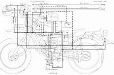 yamaha dt 125 ab enduro motorcycle wiring schematics diagram