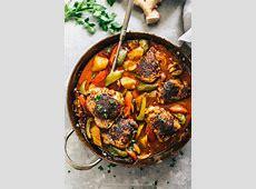 savory chicken curry casserole_image