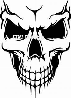 aufkleber sticker skull totenkopf wandtattoo airbrush auto