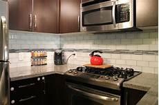 Glass Subway Tiles For Kitchen Backsplash Snow White 3x6 Glass Subway Tile Backsplash Contemporary