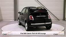 nieuw fiat 500 cabrio air 85 lounge zwart zwart dak