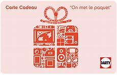 Carte Cadeau Darty La Solution Pour Faire Plaisir Coup Sr