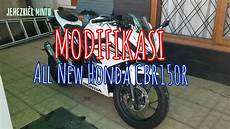 Modifikasi Spakbor Belakang Cbr150r by Modifikasi Ringan All New Cbr150r 2016