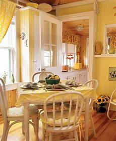 Kitchen Curtains For House by Easy Kitchen Makeover Lake House Yellow
