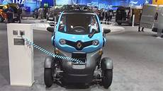 Renault Twizy Cargo 2017 Exterior And Interior In 3d