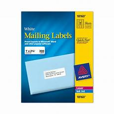 8160 avery avery labels 8160 self adhesive address labels 30 labels per sheet ebay