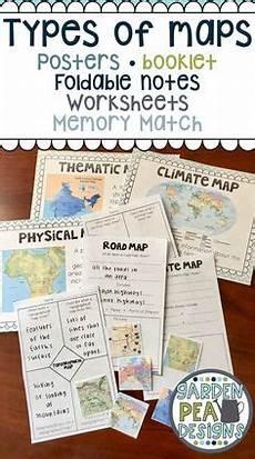 types of maps worksheet middle school 11616 reading a map of social studies map skills teaching social studies 4th grade social