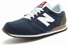 new balance 420 classic retro trainers in mesh suede in