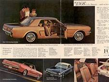 19645 Mustangs Information & Why Its Called A 1964 1/2