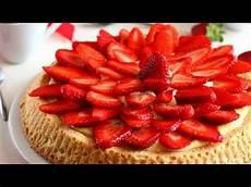 crostata crema pasticcera e fragole crostata di fragole e crema pasticcera ricetta semplice e veloce youtube