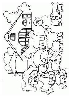 Ausmalbilder Thema Bauernhof Ausmalbilder Bauernhof 01 Thema Bauernhof Ausmalbilder