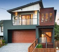 charcoal neutral beige and warm merbau timber exterior