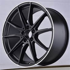 18 inch 19 inch 5x112 black polished front and rear