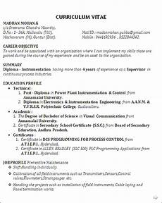resume blog co best resume sle for diploma in power plant instrumentation control