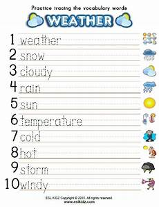 weather tracing worksheets 14689 weather vocabulary exercises driverlayer search engine