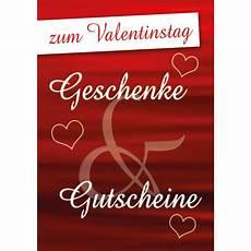 Poster Plakat Zum Valentinstag Geschenke Gutscheine