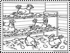 Mewarnai Gambar Ayam Anak Cemerlang