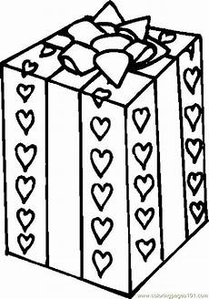 gift 2 coloring page free s day