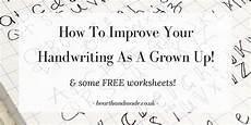 improve your handwriting worksheets for adults 21875 how to improve your handwriting as a grown up free sheets free worksheets chicken scratch