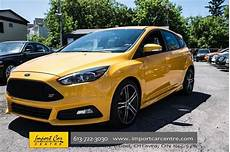 2015 ford focus st yellow import car centre wheels ca