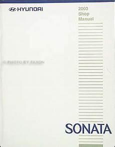 where to buy car manuals 2003 hyundai sonata spare parts catalogs 2003 hyundai sonata repair shop manual original