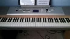 Yamaha Ypg 625 Portable Grand 88 Key Keyboard Reverb