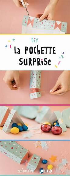 fabriquer d adorables pochette surprises diy birthday