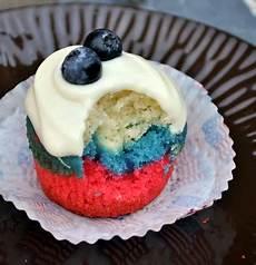 fourth of july cupcakes baking bites