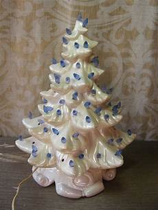 White Ceramic Tree Vintage