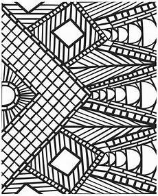 Coloring Geometric Pages Get This Printable Geometric Coloring Pages 16527