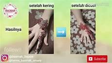 Tutorial Henna Simple Untuk Anak Anak Basmah Amany