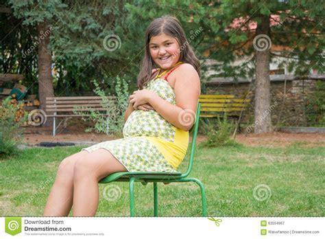 Pregnant Naked Teen