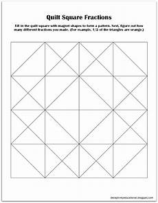 fraction quilts worksheets 4073 relentlessly deceptively educational quilt square fractions