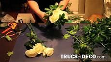comment faire un bouquet de fleurs faire un bouquet rond tutoriel par trucsetdeco