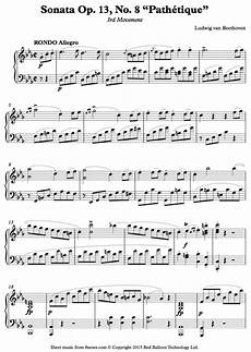 beethoven pathetique sonata 3rd movement pdf