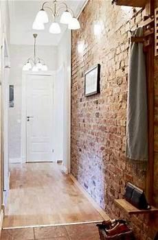 revetement mural couloir ambiance indus et mur de brique en d 233 co de couloir