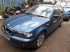 bmw e46 touring 316i 2002 1 8 manual blue n42b18a