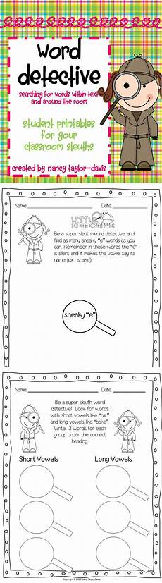 spelling detective worksheets 22361 word detective student printables for your classroom sleuths kindergarten worksheets